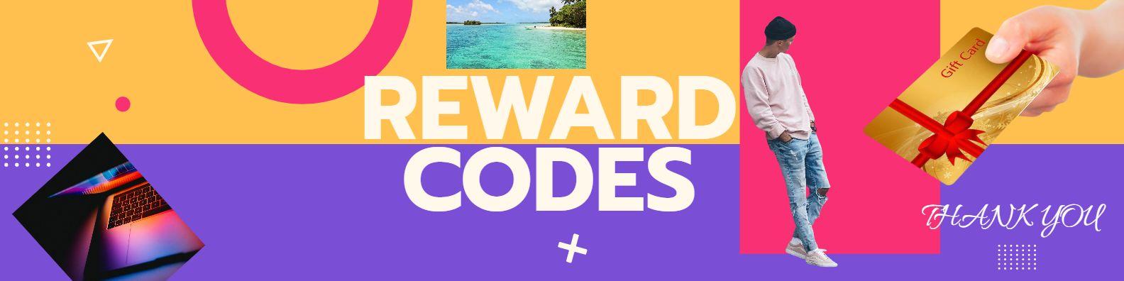 reward codes