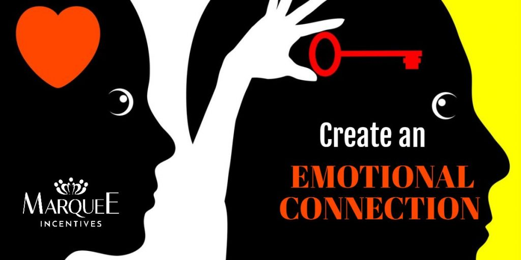 create an emotional connection